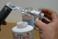 Pipe Thread Sealant with PTFE